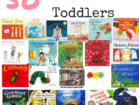 50 Of The Best Books For Toddlers // www.gritsngrace.com