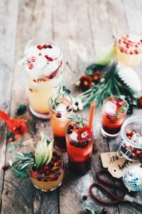 Cranberry Sparkling Punch