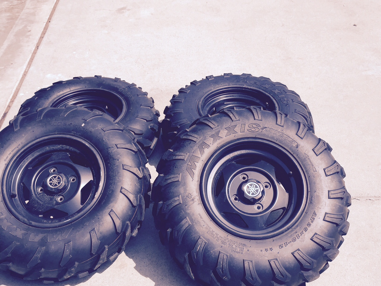 Grizzly 700 Tires Rims