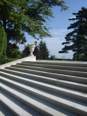 """Kurija – stepenice i """"puž"""""""