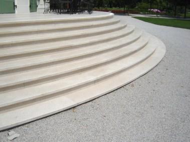 Kurija - uređenje stepenica (1)