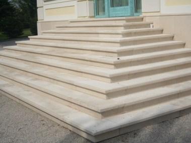 Kurija - uređenje stepenica (3)