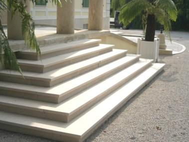 Kurija - uređenje stepenica (4)