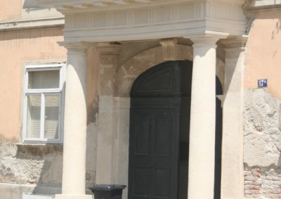 Palača Oršić – kameni portal
