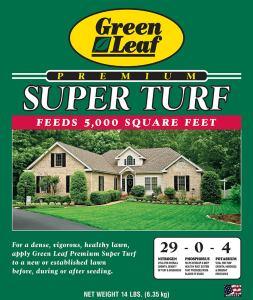 Green Leaf Super Turf - 14 lbs
