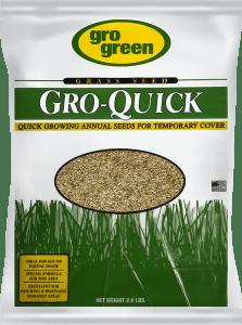 Gro Green Gro Quick Grass Seed - 2 lbs - Single Bag