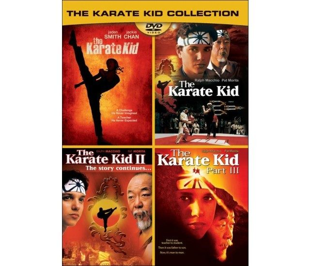 The Karate Kid Collection DVD Only $3.99!