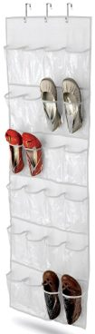 Honey-Can-Do Over The Door Shoe Organizer 24-Pocket Only $7.50! Ships FREE!