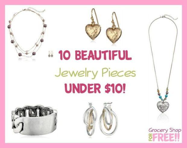 10 Beautiful Jewelry Pieces Under $10!