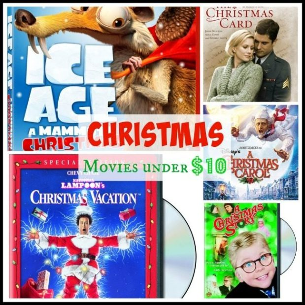 10 Christmas Movies Under $10