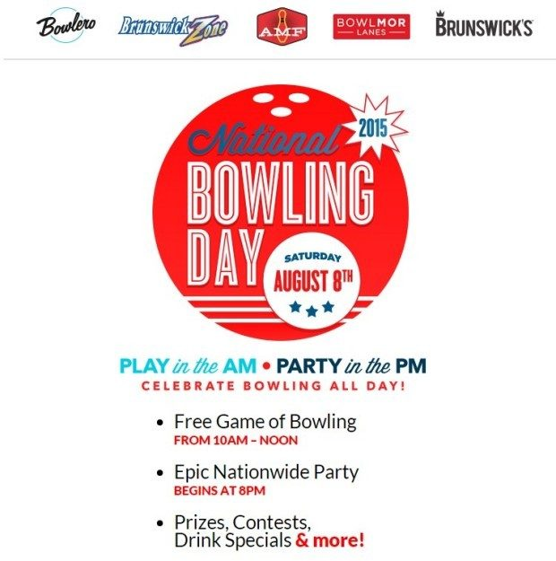 FREE Bowling On National Bowling Day!