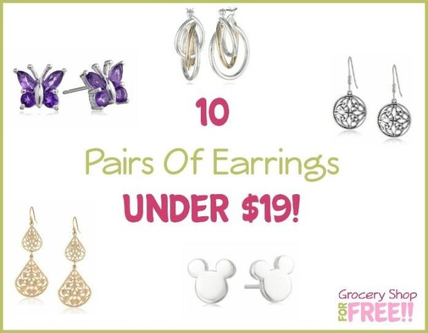 10 Pairs Of Earrings Under $19!