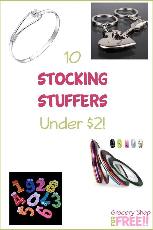 10 Stocking Stuffers Under $2!
