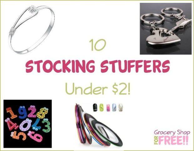 10 Stocking Stuffers Under $2!