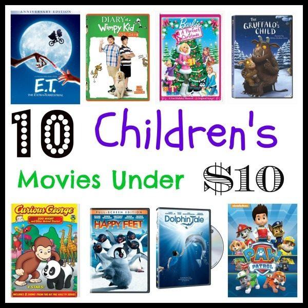 10 children's movies under $10