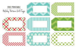 FREE Printable Gift Tags and Place Cards!