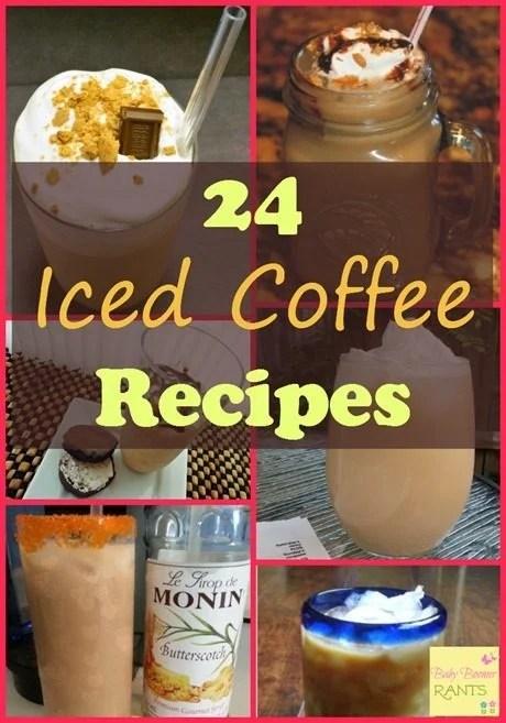 24 Iced Coffee Recipes!
