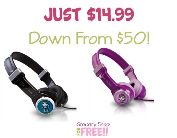 JLab JBuddies Kids Volume Limiting Headphones Just $19.99!  Down From $49!