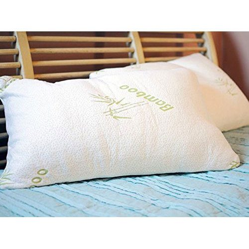 Bamboo Memory Foam Pillow By Regal Comfort - Queen Only $23.49 Plus FREE Shipping!