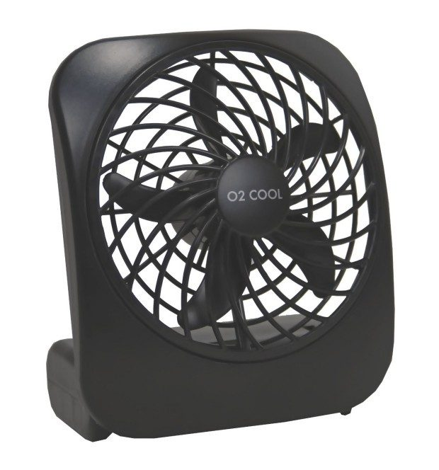 "O2 Cool 5"" Portable Battery-Operated Fan Just $6.88!  Down From $19.99!"