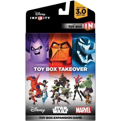 Disney Infinity Toy Box Takeover Or Speedway Just $9.99!  PLUS FREE Shipping!