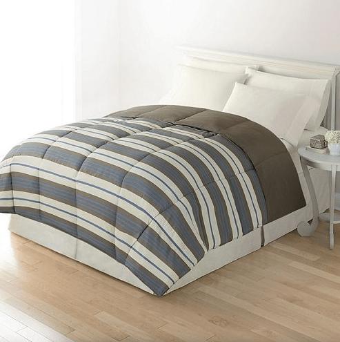 Reversible Down-Alternative Comforter Just $16.24!