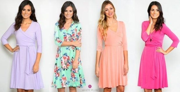 Women's Wrap Dresses Just $24.99!