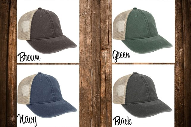 Garment Washed Trucker Hat Only $9.99! Down From $26.99!