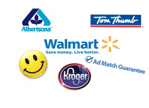 Walmart:  Grocery Stores Ad Match!
