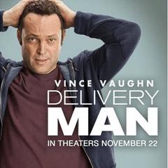 "Sneak Peak:  ""Delivery Man"" Trailer With Vince Vaughn!"