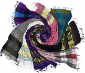 Set of 2 Pashima Scarves Only $9.99 Shipped!