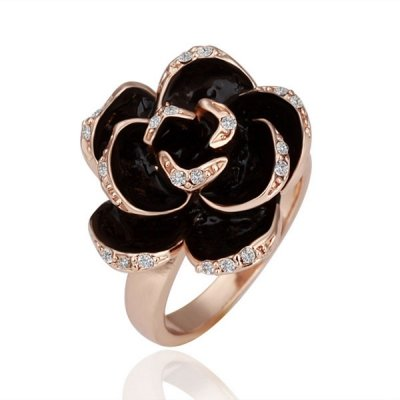 Gorgeous Retro Flower Twist Ring Only $0.99 SHIPPED!