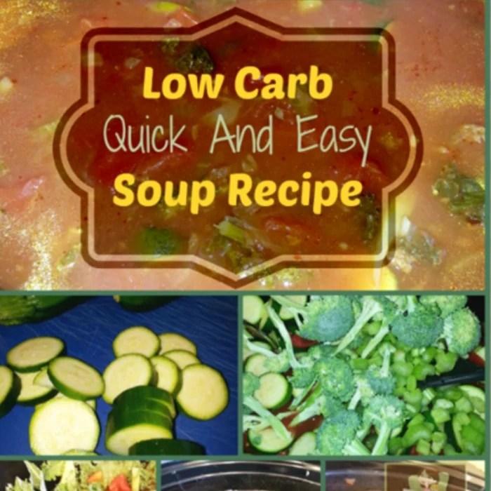 Low Carb, Slow Cooker Soup Recipe!