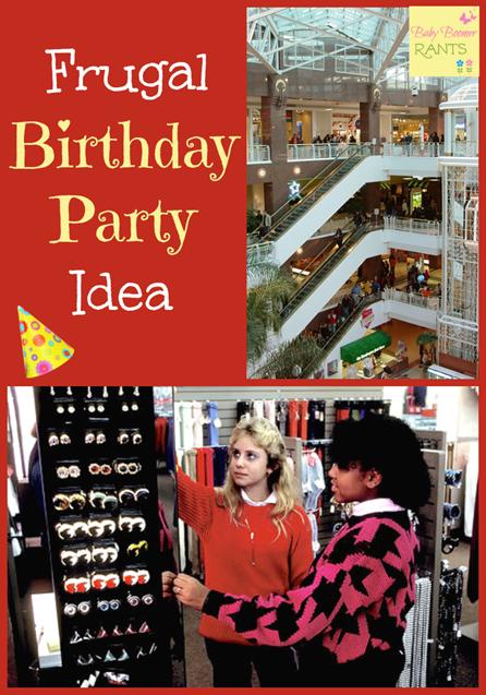 Frugal Birthday Party Idea