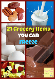 21 Grocery Items You Can Freeze