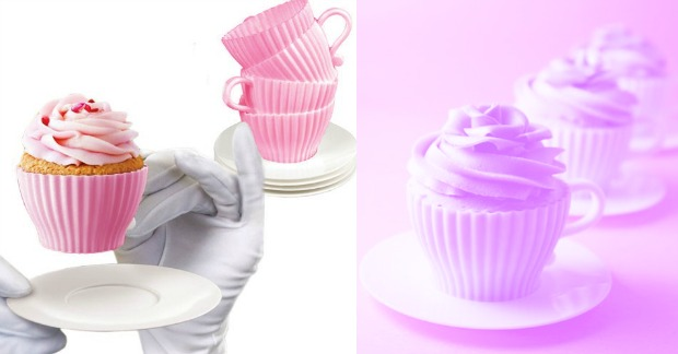8 Piece Set Bake and Serve Tea Cups and Saucers Just $6.99! Down From $24.99! Ships FREE!