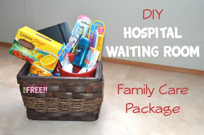 DIY Hospital Waiting Room Family Care Package