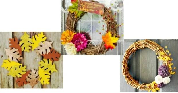 20 Creative DIY Fall Wreaths!