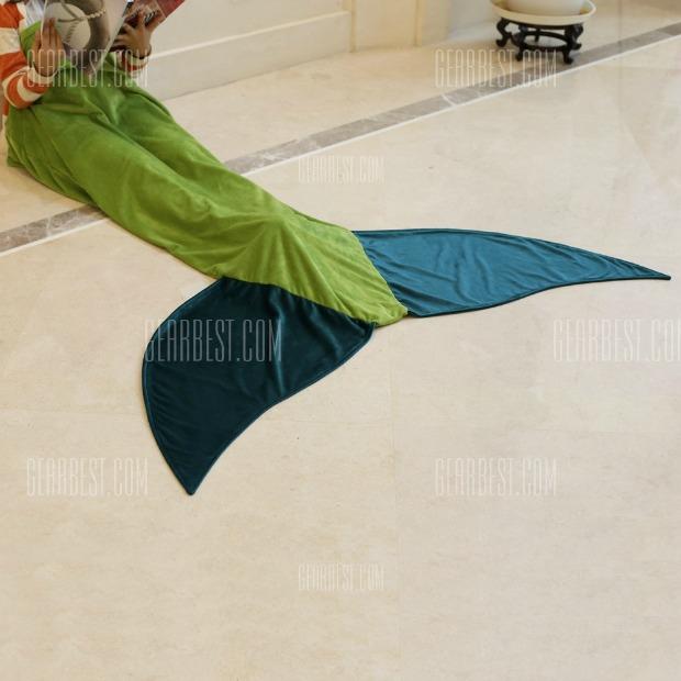 Mermaid Blanket Flannel