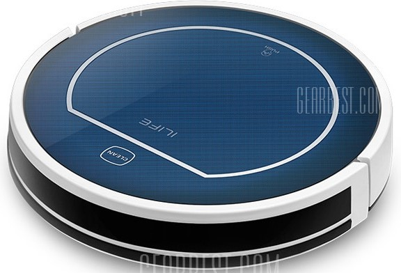 ILIFE V7 Super Mute Sweeping Robot Home Vacuum Cleaner Dust Cleaning