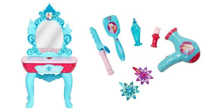 Disney's Frozen Beauty Vanity Only $20.40! Down From $80!
