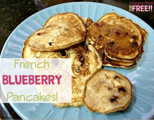 French Blueberry Pancakes!