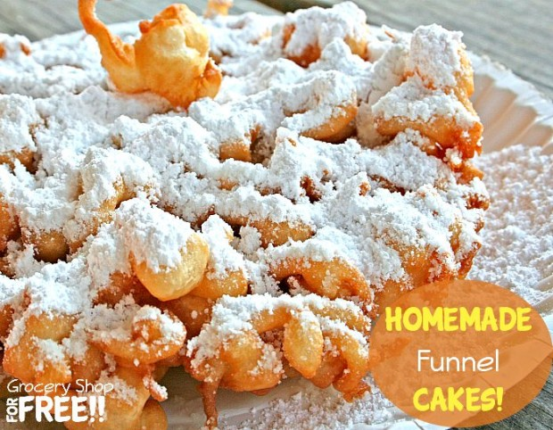 Homemade Funnel Cakes!
