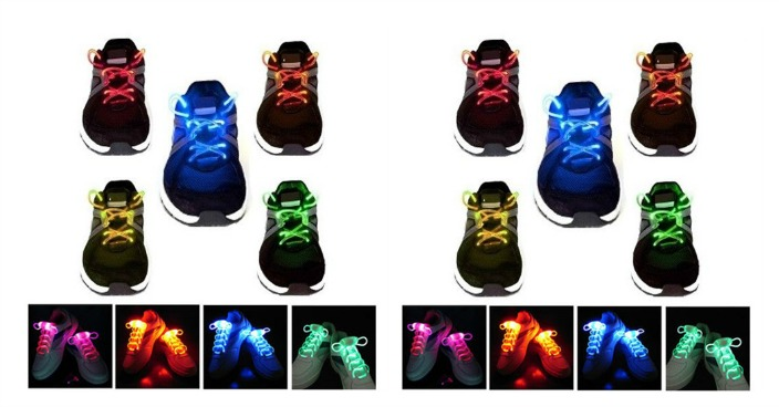 LED Waterproof Light-Up Shoelaces Just $4.99! Down From $30! Ships FREE!