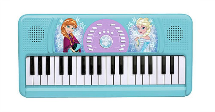 Disney's Frozen Keyboard Just $24.99!