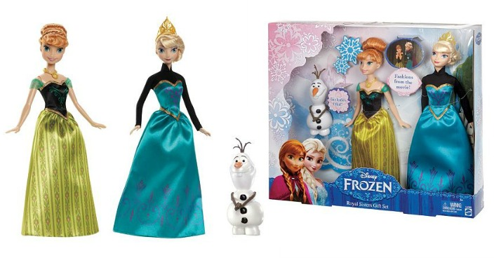Disney's Frozen Royal Sisters Gift Set Only $14.39! Down From $45!