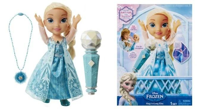 Disney's Frozen Sing Along Elsa Just $24.91! Down From $40!