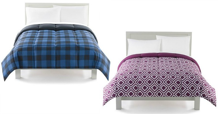 Down Alternative Reversible Comforter Only $27.99! Down From Up To $120!