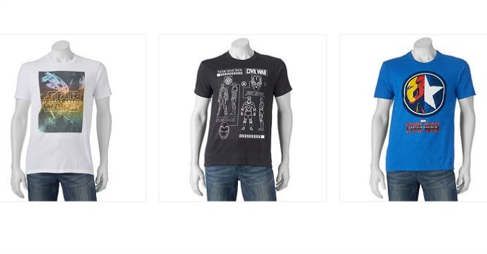 Men's Graphic T-Shirts Only $3.42! Down From $15!