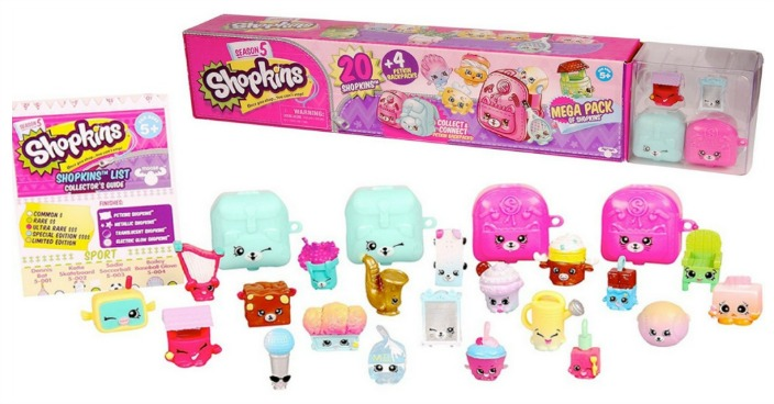 Shopkins Mega Pack Just $10! Down From $15!